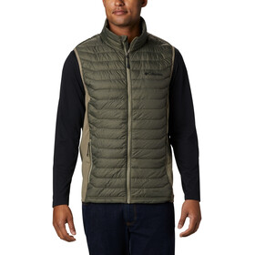Columbia Powder Pass Vest Men new olive heather